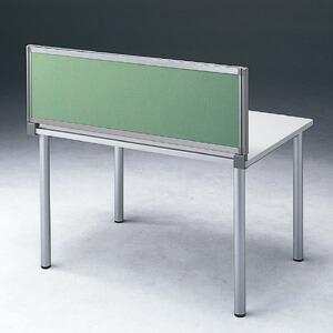 パーテーション デスクパネルシリーズ 高さ40cm×幅100cm グリーン パーティション 間仕切り 衝立 ついたて [OU-0410C3005]【サンワサプライ】【送料無料】