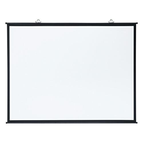 プロジェクタースクリーン壁掛け式 アスペクト比4:3 100インチ相当 [PRS-KB100]【サンワサプライ】【大物商品】
