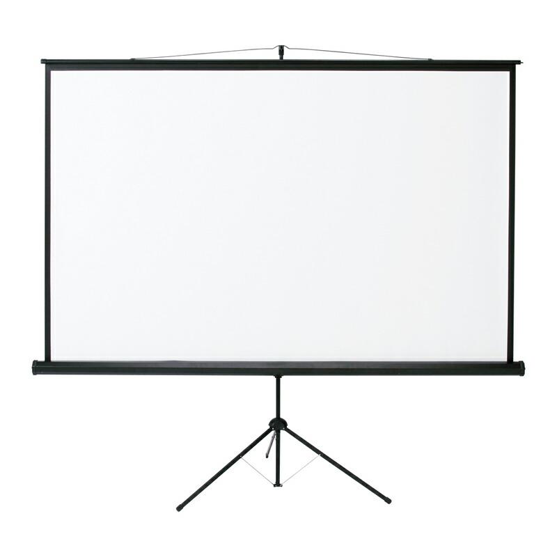 プロジェクタースクリーン 105インチ 床置き 三脚式 [PRS-S105]【サンワサプライ】【大物商品】