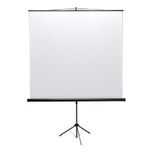 プロジェクタースクリーン 90インチ 床置き 三脚式 [PRS-S90]【サンワサプライ】【大物商品】