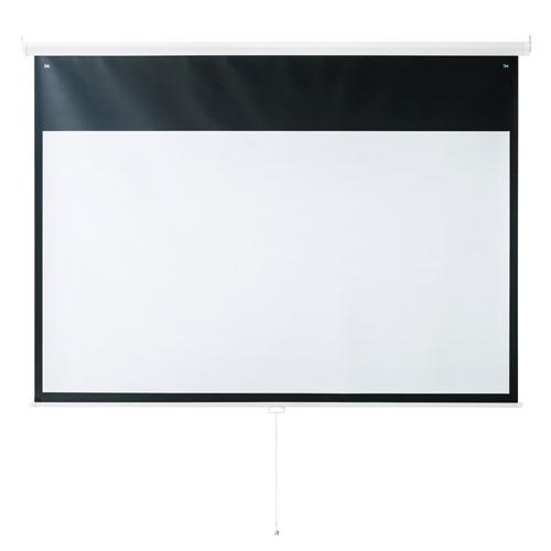 プロジェクタースクリーン(100型・吊り下げ式)[PRS-TS100HD]【送料無料】