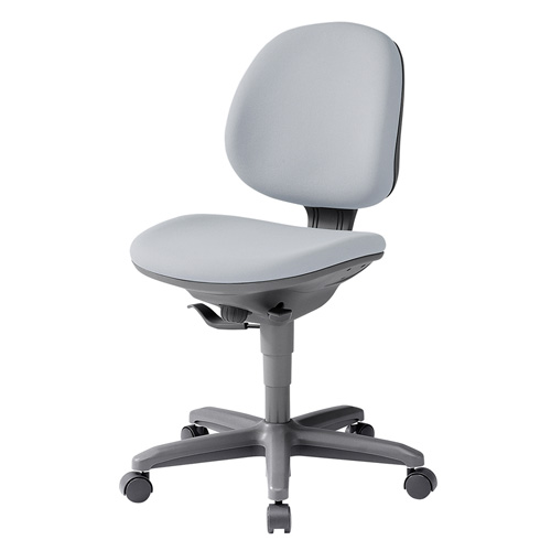 オフィスチェア ライトグレー フリーシンクロロッキング 受注発注 椅子 [SNC-078LGY]【サンワサプライ】【大物商品】