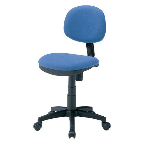 オフィスチェア ブルー 低ホルムアルデヒド 背もたれチルト機能 背もたれロッキング機能 椅子 [SNC-E8BL]【サンワサプライ】【送料無料】