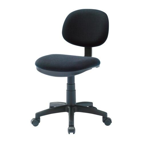 オフィスチェア ブラック 低ホルムアルデヒド 背もたれチルト機能 椅子 [SNC-E9BK]【サンワサプライ】【送料無料】