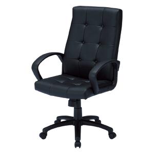 レザーチェア 革張り ハイバック ロッキング パソコンチェア オフィスチェア 椅子 [SNC-L13]【サンワサプライ】 【送料無料】