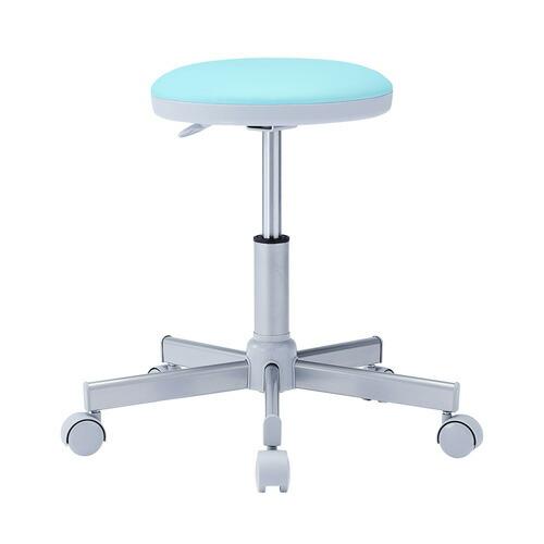 丸椅子 グリーン 病院向け 背もたれ無し オフィスチェア 椅子 腰掛け
