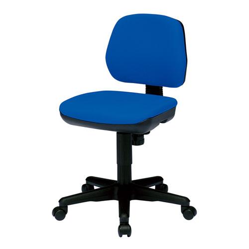 オフィスチェア ブルー ロッキング 型崩れしにくいモールドウレタン 椅子
