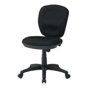 オフィスチェア ブラック ロッキング 大型座面 椅子 [SNC-T146BK]【サンワサプライ】【送料無料】