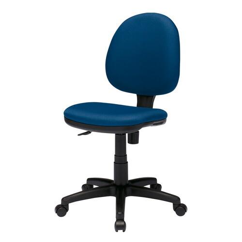 オフィスチェア(防汚生地・ブルー) 椅子 [SNC-T150BL]【サンワサプライ】【大物商品】