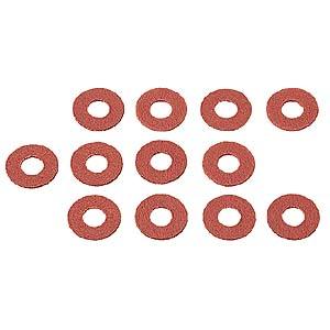 TK-P6 サンワサプライ ネコポス対応 2020秋冬新作 グラスワッシャー 爆買い送料無料 12個入り PCパーツ Vパーツ 直径3mm自作用 DOS