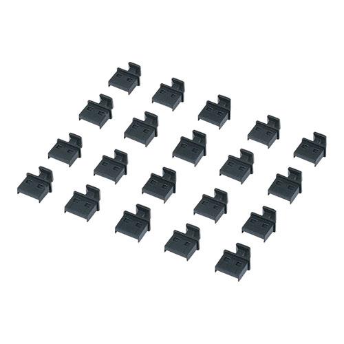 TK-UCAP20 サンワサプライ ネコポス対応 レビューを書けば送料当店負担 USBコネクタキャップ 20個セット つめ付 Aコネクタ PCパーツ メス用 自作用 ホコリの付着を防ぐ SALE開催中 Vパーツ DOS