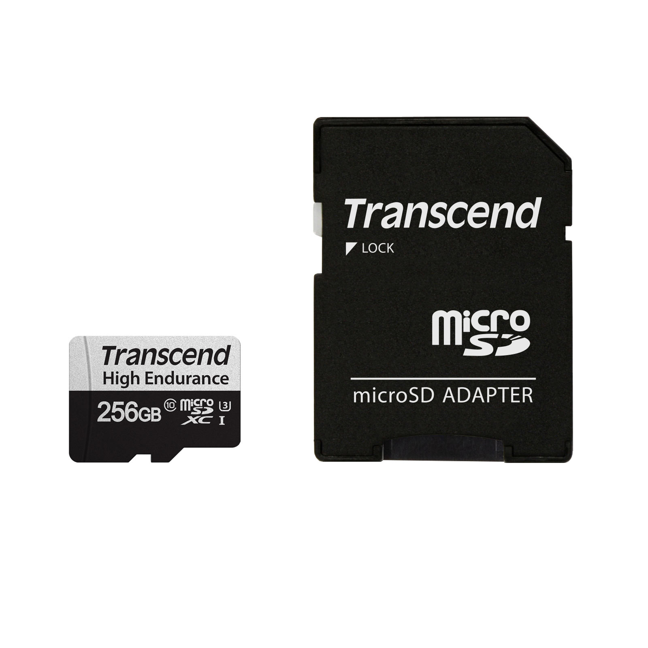 TS256GUSD350V 国内在庫 超歓迎された トランセンド ネコポス対応 送料無料 Transcend microSDXCカード 256GB 高耐久 セキュリティカメラ Class1UHS-I ドライブレコーダー U3 SDカード変換アダプタ付