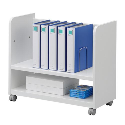 幅可変デスク下ファイルワゴン(書類・カタログ収納) 本棚 a4 キャスター付き