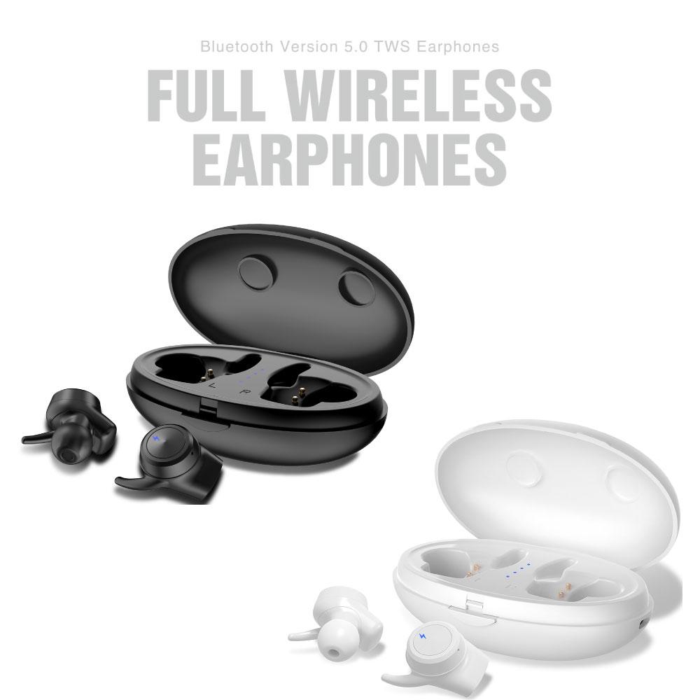 【物流倉庫出荷】イヤホン Bluetooth トゥルーワイヤレス 両耳 AAC aptX対応 Bleutooth.5.0 充電ケース付 左右独立 VTH-IC041 オートペアリング搭載 高音質 ブルートゥース 落下を防ぐ 脱落防止 スポーツ