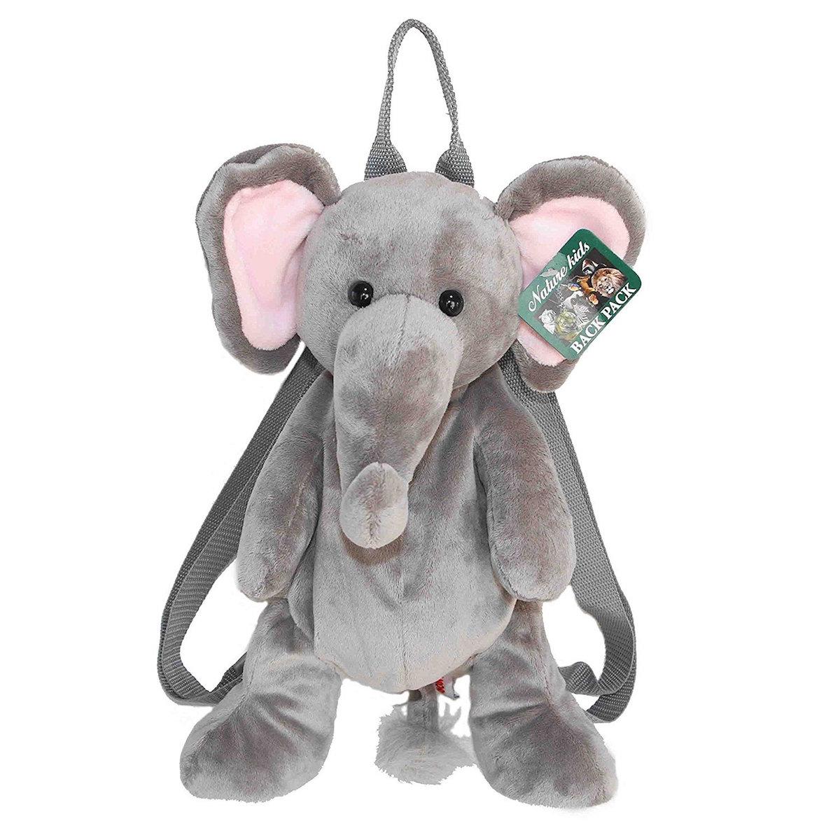 ゾウの可愛いバックパックです バックパック ラッピング無料 ニューゾウ ぬいぐるみ WORLD オーロラワールド AURORA 日本未発売 陸の生き物