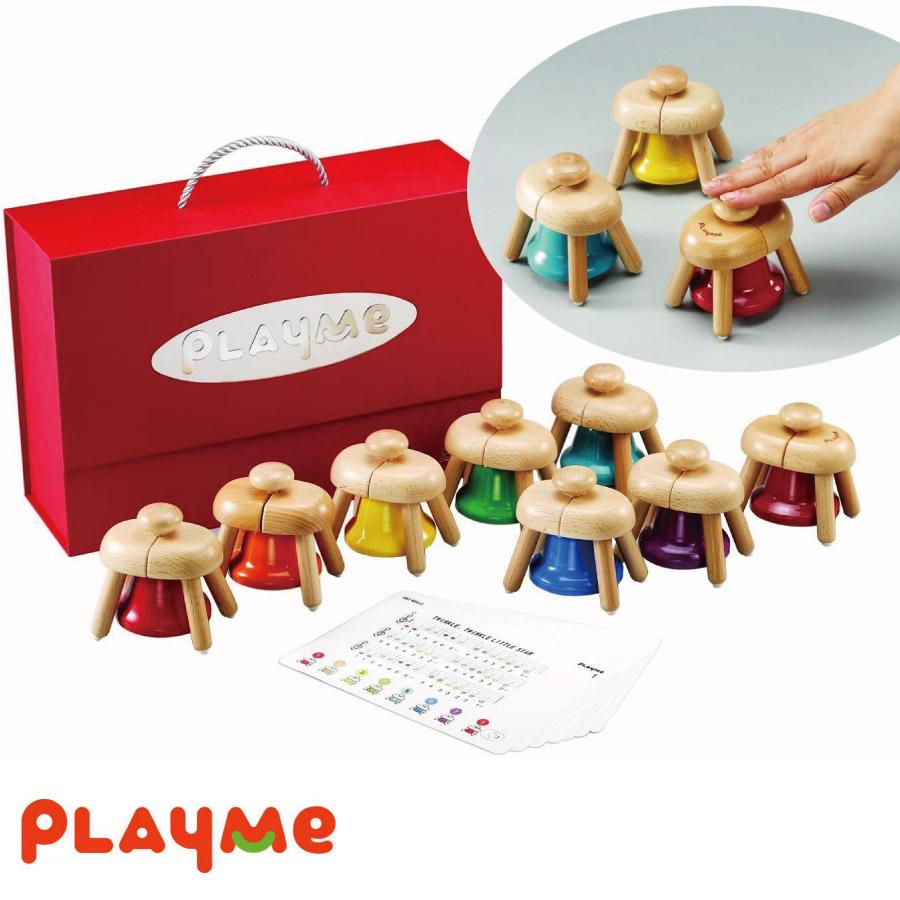 プレゼントやギフトに 簡単に演奏ができる Play Me Toys プレイミー パットベル A0809 木 女の子 クリスマス 知育 在庫限り 男の子 プレゼント 2歳 ※アウトレット品 ギフト 誕生日 1歳 3歳 4歳