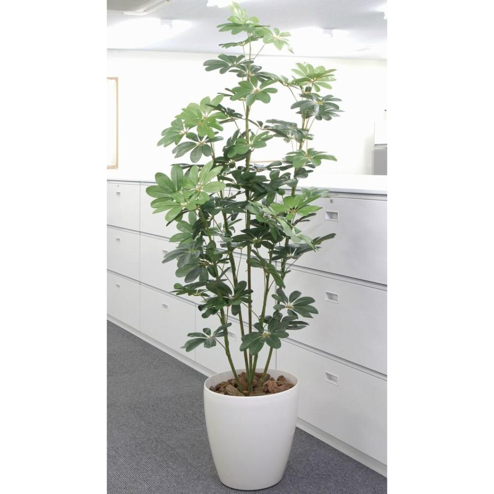 光触媒 人工観葉植物 造花(フェイクグリーン・フェイクフラワー)光の楽園 カポック 180cm 158E320お部屋の消臭・抗菌・防汚効果があります。水やり・お手入れ不要置くだけで素敵な癒し空間を演出してくれます。