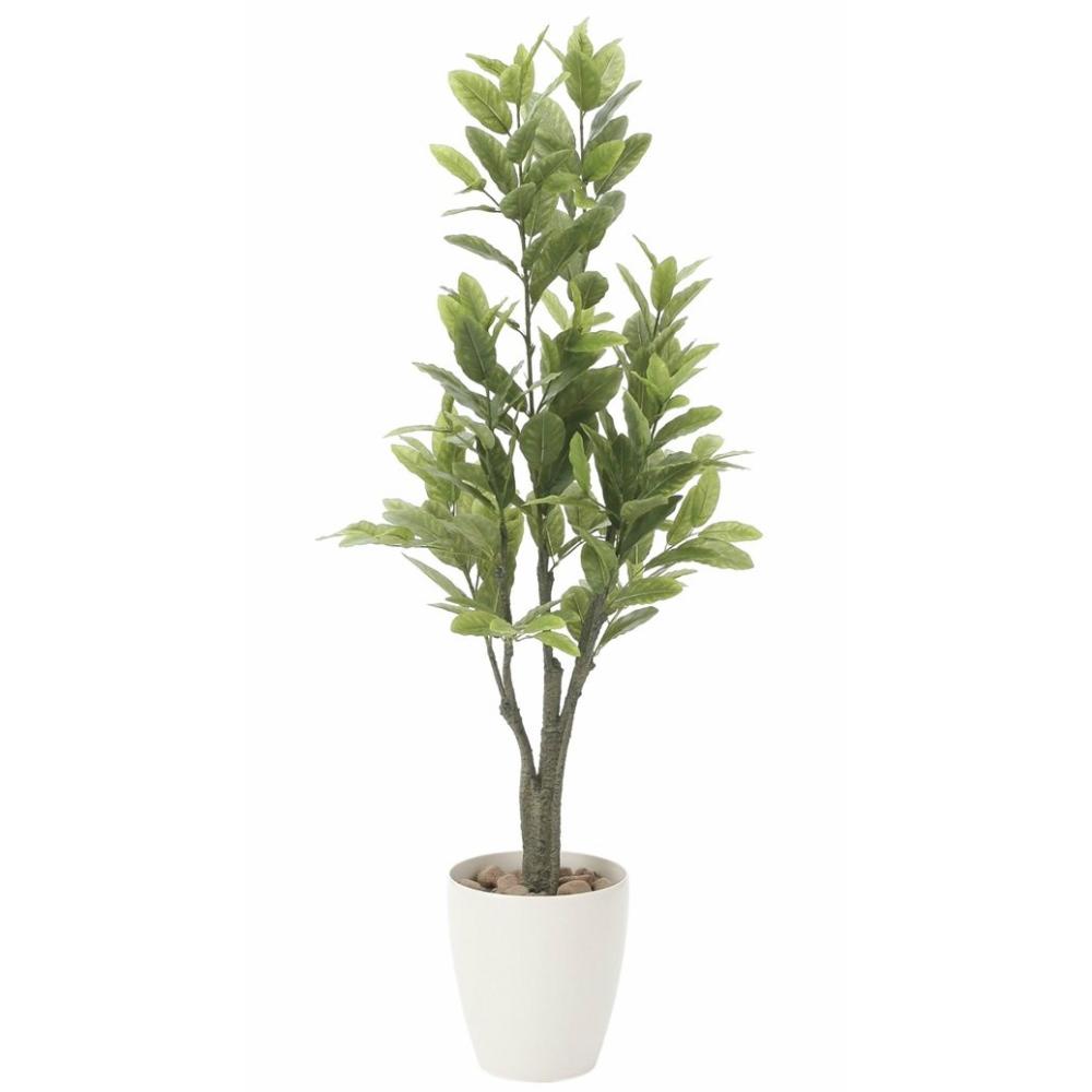 光触媒 人工観葉植物 造花 フェイクグリーン 光の楽園 レモン 1.25m おしゃれ インテリア 大型 817A200