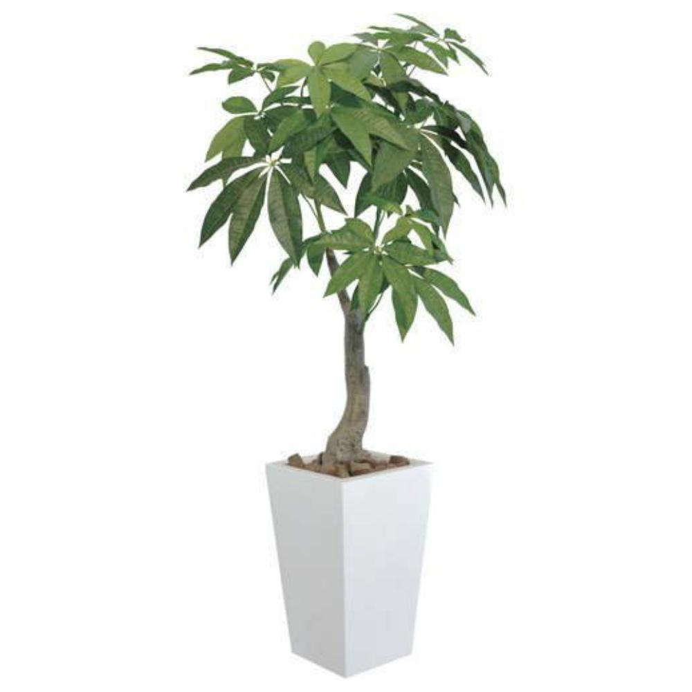 光触媒 光の楽園 ロイヤルパキラ1.35 129A380約 幅60×奥行60×高さ135cm人工植物 造花 フェイクグリーン おしゃれ インテリア 大型