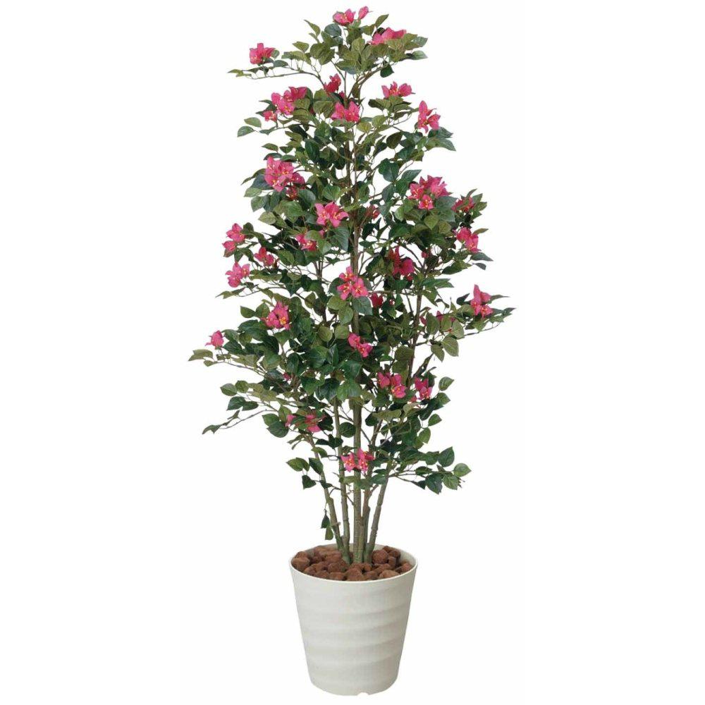 光触媒 光の楽園 ブーゲンビリア1.25 164E250約 幅50×奥行50×高さ125cm人工植物 造花 フェイクグリーン おしゃれ インテリア 大型 フェイクフラワー