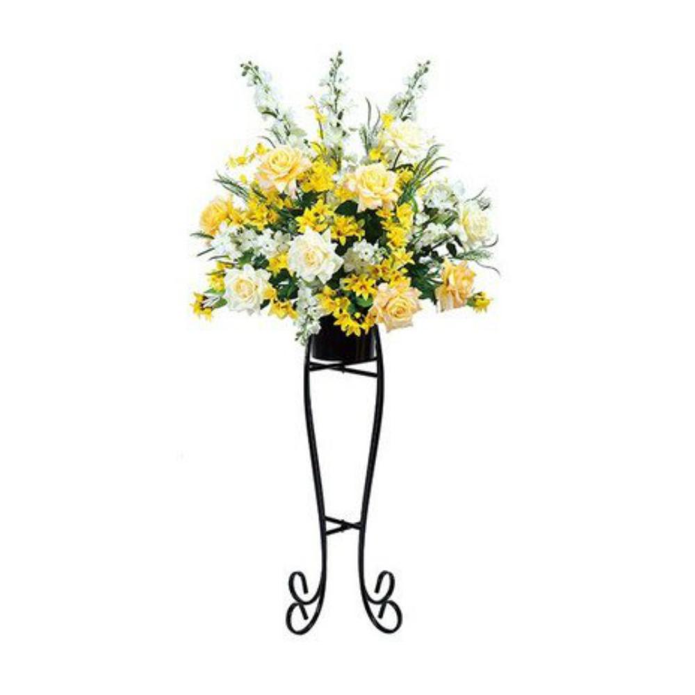 光触媒 人工観葉植物 造花(フェイクフラワー)光の楽園 アートフラワー ハニークイーン 302A400お部屋の消臭・抗菌・防汚効果があります。水やり・お手入れ不要置くだけで素敵な癒し空間約 幅76×奥行53×高さ154cm