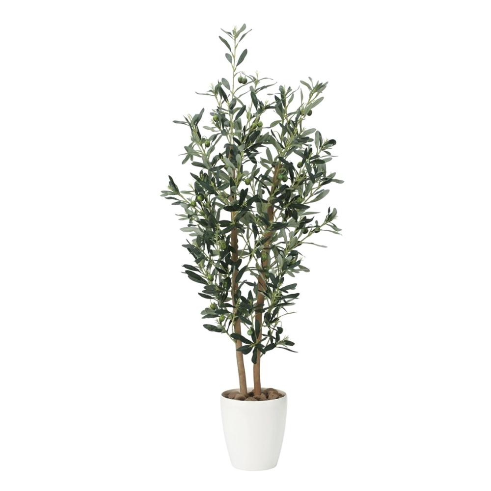 光触媒 光の楽園 オリーブ1.2 869A200約 幅48×奥行37×高さ120cm人工植物 造花 フェイクグリーン おしゃれ インテリア 大型
