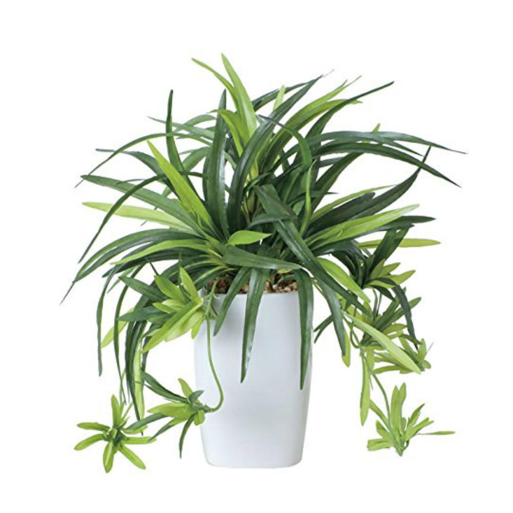 光触媒 人工観葉植物 造花(フェイクグリーン・フェイクフラワー)光の楽園 ドラセナ角ポット 438A60お部屋の消臭・抗菌・防汚効果があります。水やり・お手入れ不要置くだけで素敵な癒し空間約 幅26×奥行26×高さ30cm