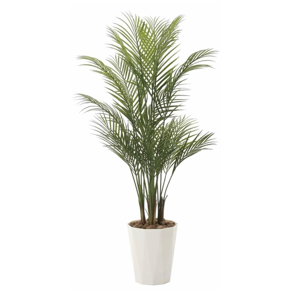 光触媒 人工観葉植物 造花 フェイクグリーン 光の楽園 アレカパーム 1.35m おしゃれ インテリア 大型720A275