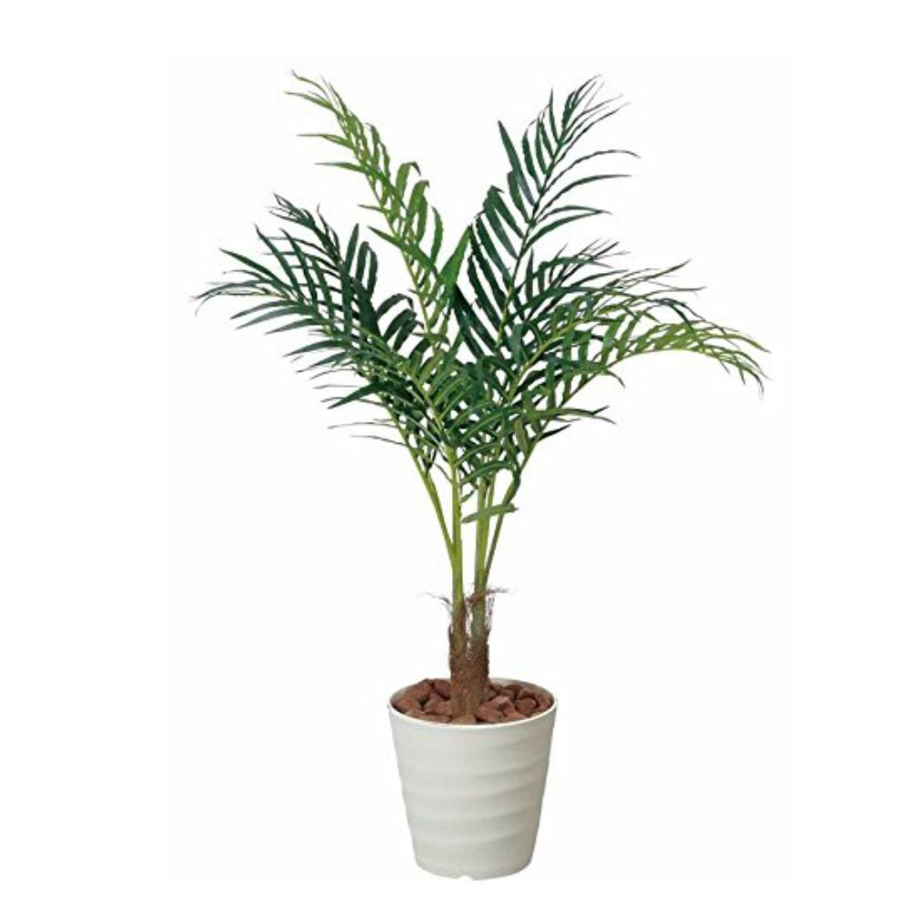 光触媒 人工観葉植物 造花(フェイクグリーン・フェイクフラワー)光の楽園 アレカパーム1.15m 197A180お部屋の消臭・抗菌・防汚効果があります。水やり・お手入れ不要置くだけで素敵な癒し空間約 幅70×奥行70×高さ115cm
