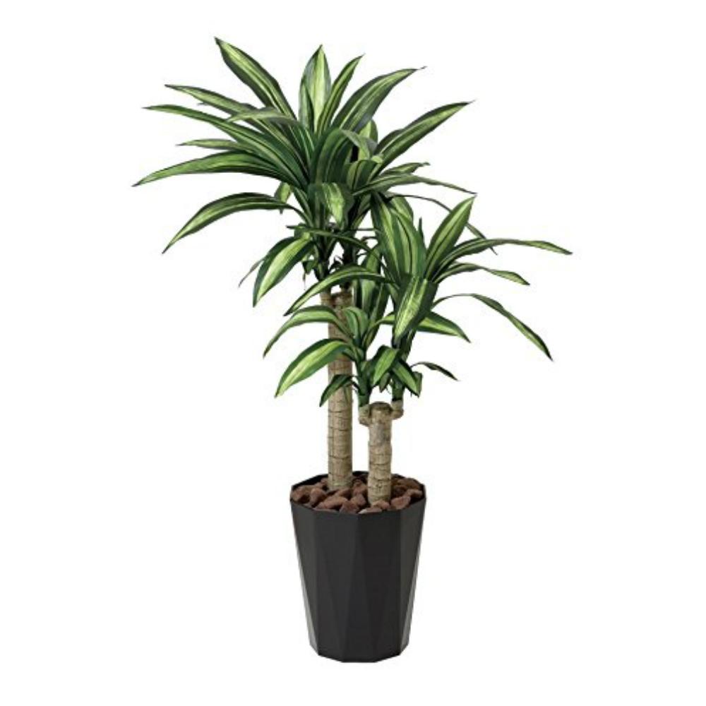 光触媒 光の楽園 幸福の木1.1 406A180約 幅55×奥行55×高さ110cm人工植物 造花 フェイクグリーン おしゃれ インテリア 大型