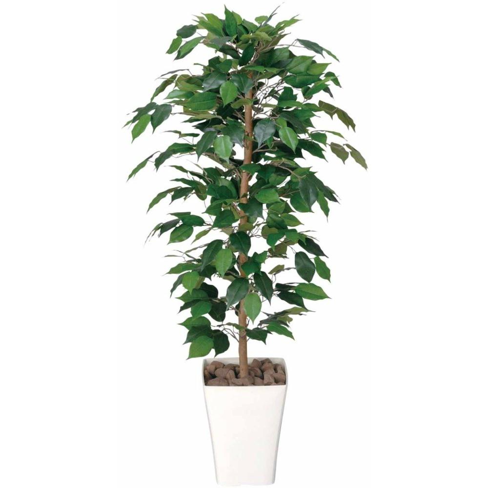 光触媒 人工観葉植物 造花 フェイクグリーン 光の楽園 フィカスベンジャミン 1.2m おしゃれ インテリア 大型 189A170