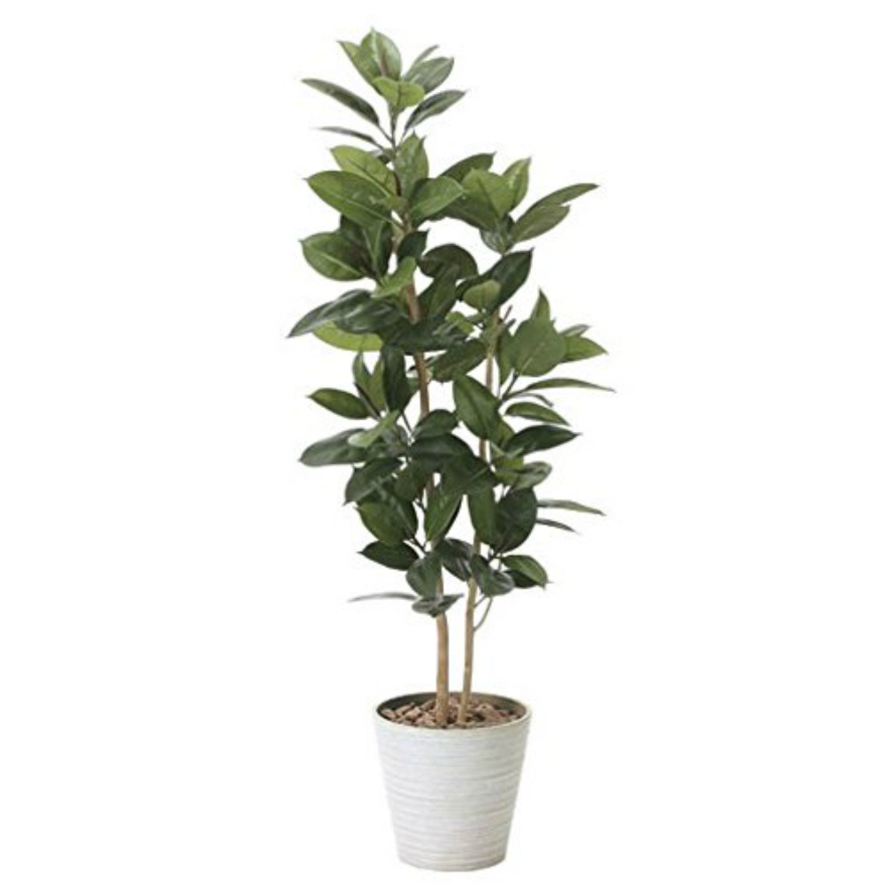 光触媒 人工観葉植物 造花 フェイクグリーン 光の楽園 ゴムの木 1.6m おしゃれ インテリア 大型 824A320