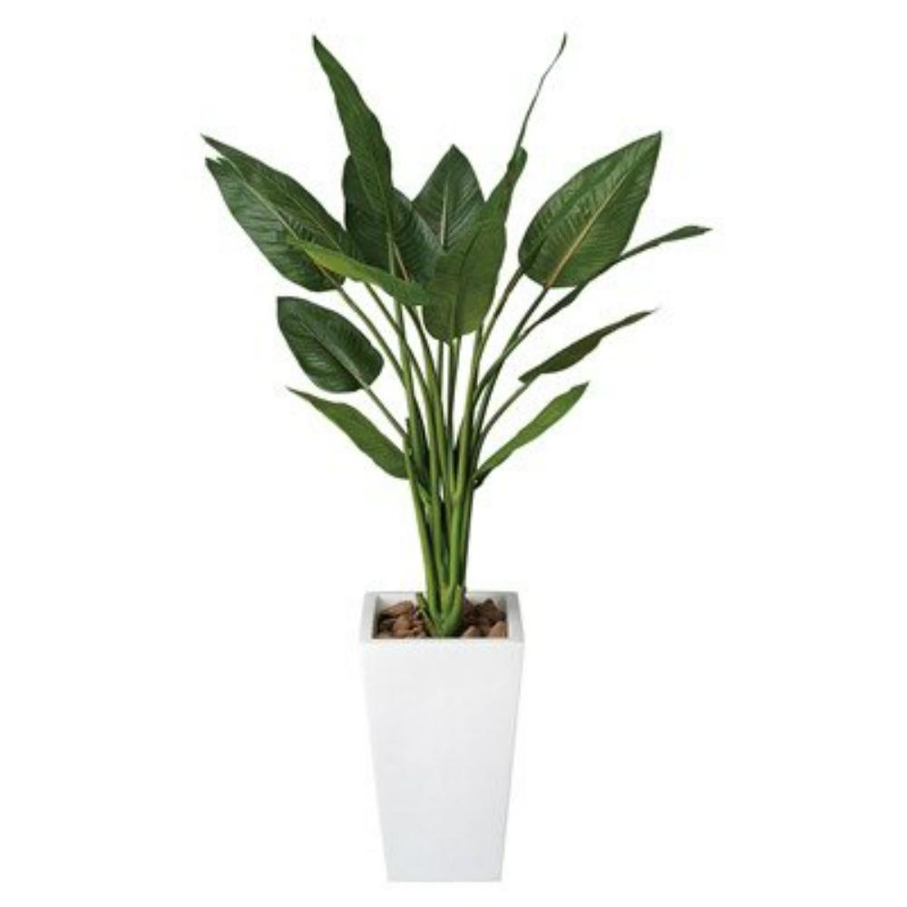 光触媒 人工観葉植物 造花(フェイクグリーン・フェイクフラワー)光の楽園 ストレチア1.3m 131C450お部屋の消臭・抗菌・防汚効果があります。水やり・お手入れ不要置くだけで素敵な癒し空間を演出してくれます。
