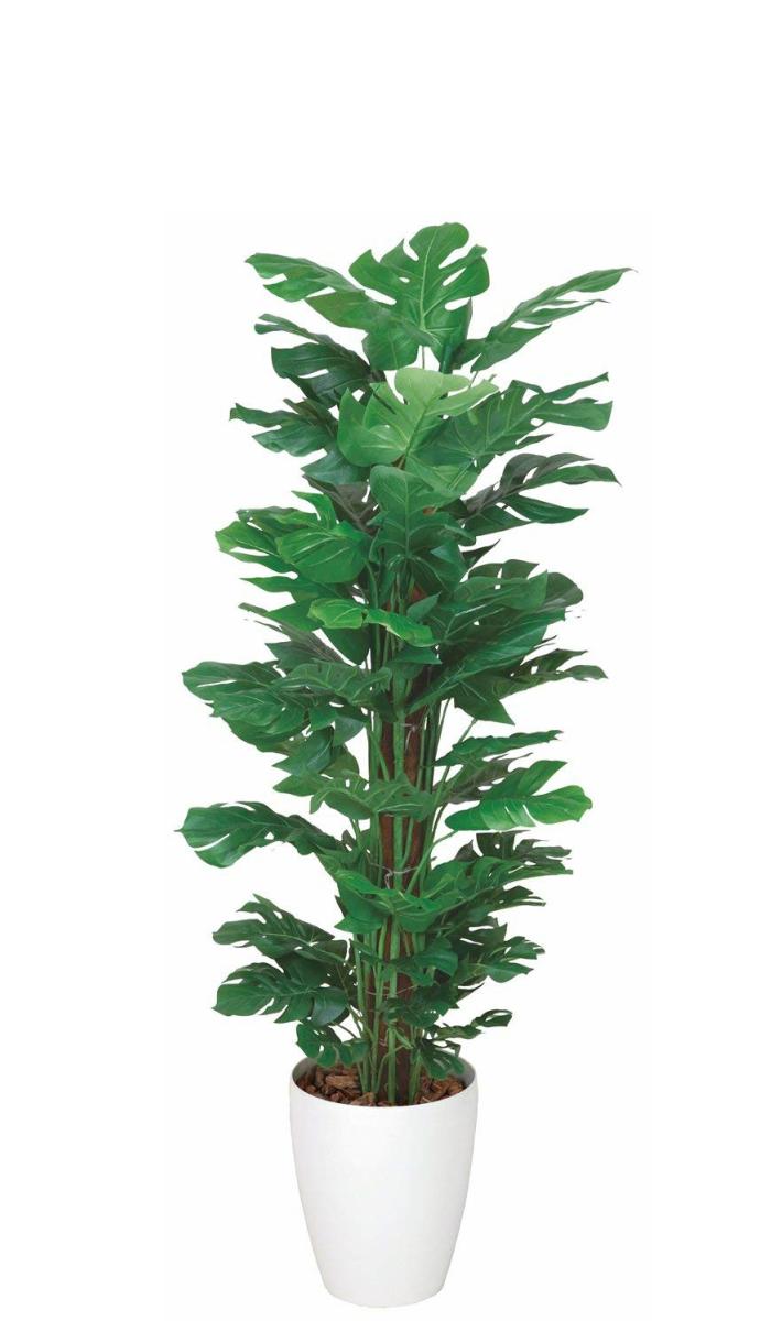 光触媒 人工観葉植物 造花 フェイクグリーン 光の楽園 スプリット 1.2m おしゃれ インテリア 大型 374B200