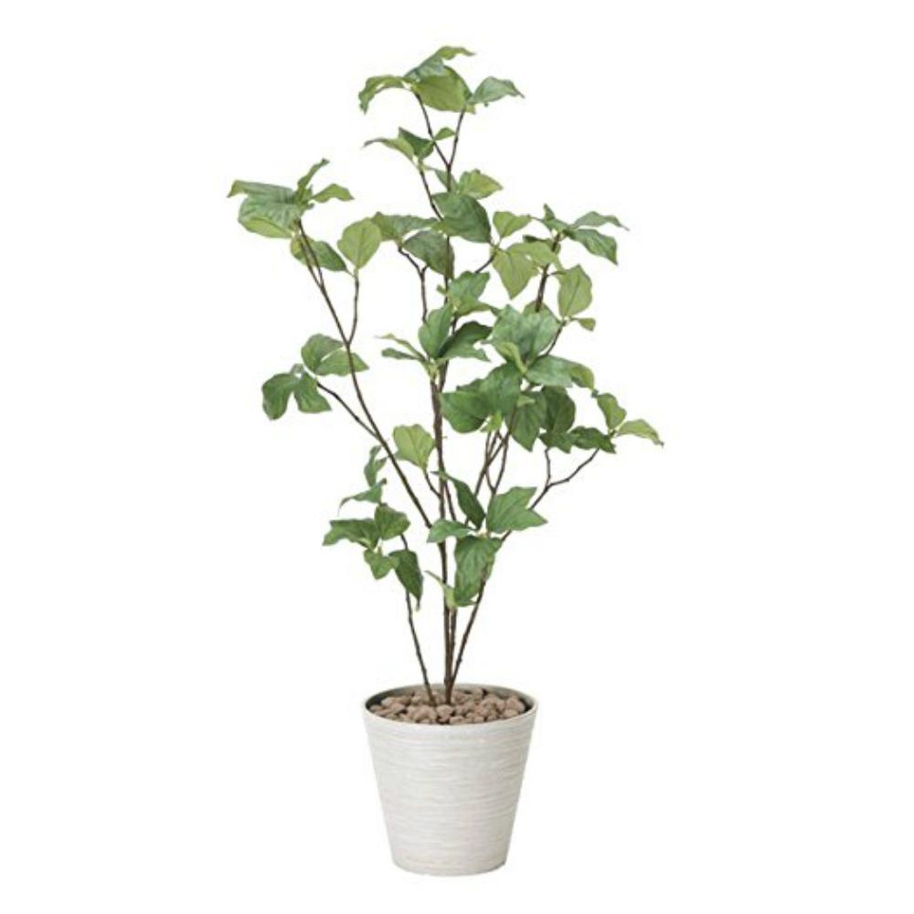 光触媒 人工観葉植物 造花(フェイクグリーン・フェイクフラワー)光の楽園 サラサドウダン90 827A85お部屋の消臭・抗菌・防汚効果があります。水やり・お手入れ不要置くだけで素敵な癒し空間を演出約 幅45×奥行40×高さ90cm