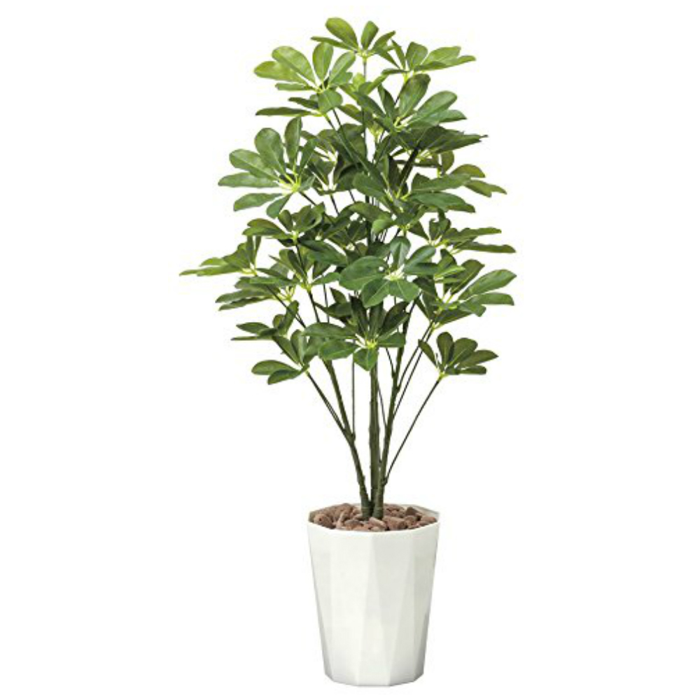 光触媒 光の楽園 シェフレラ90 514A150約 幅45×奥行45×高さ90cm人工植物 造花 フェイクグリーン おしゃれ インテリア 大型