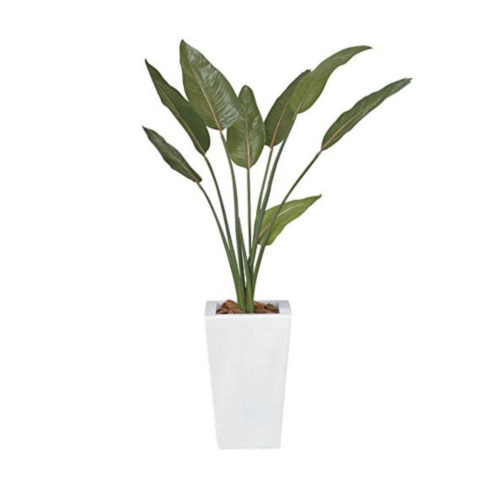 光触媒 人工観葉植物 造花 フェイクグリーン 光の楽園 ストレチア(ストレリチア) 1.2m おしゃれ インテリア 大型 132E330