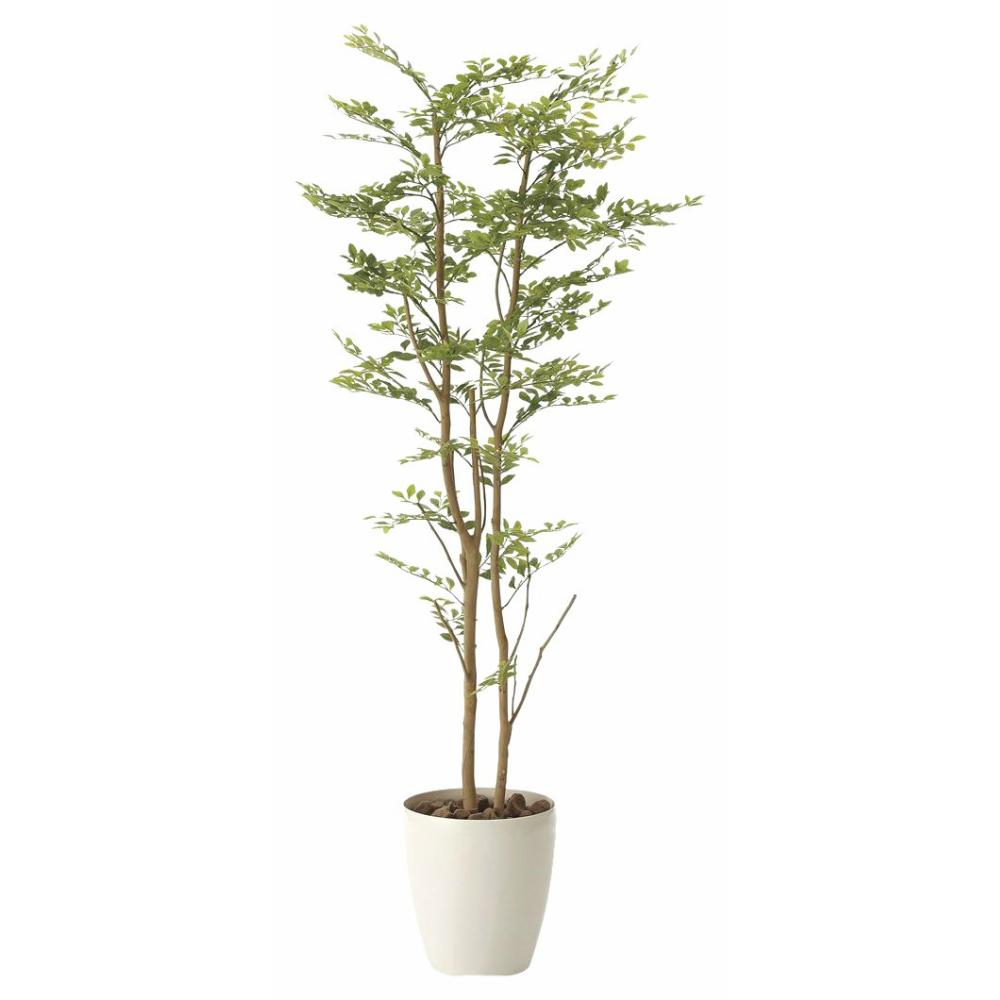 光触媒 人工観葉植物 造花(フェイクグリーン)光の楽園 アートフラワー ゴールデンリーフ 1.6m 605A310お部屋の消臭・抗菌・防汚効果があります。水やり・お手入れ不要置くだけで素敵な癒し空間約 幅60×奥行60×高160cm