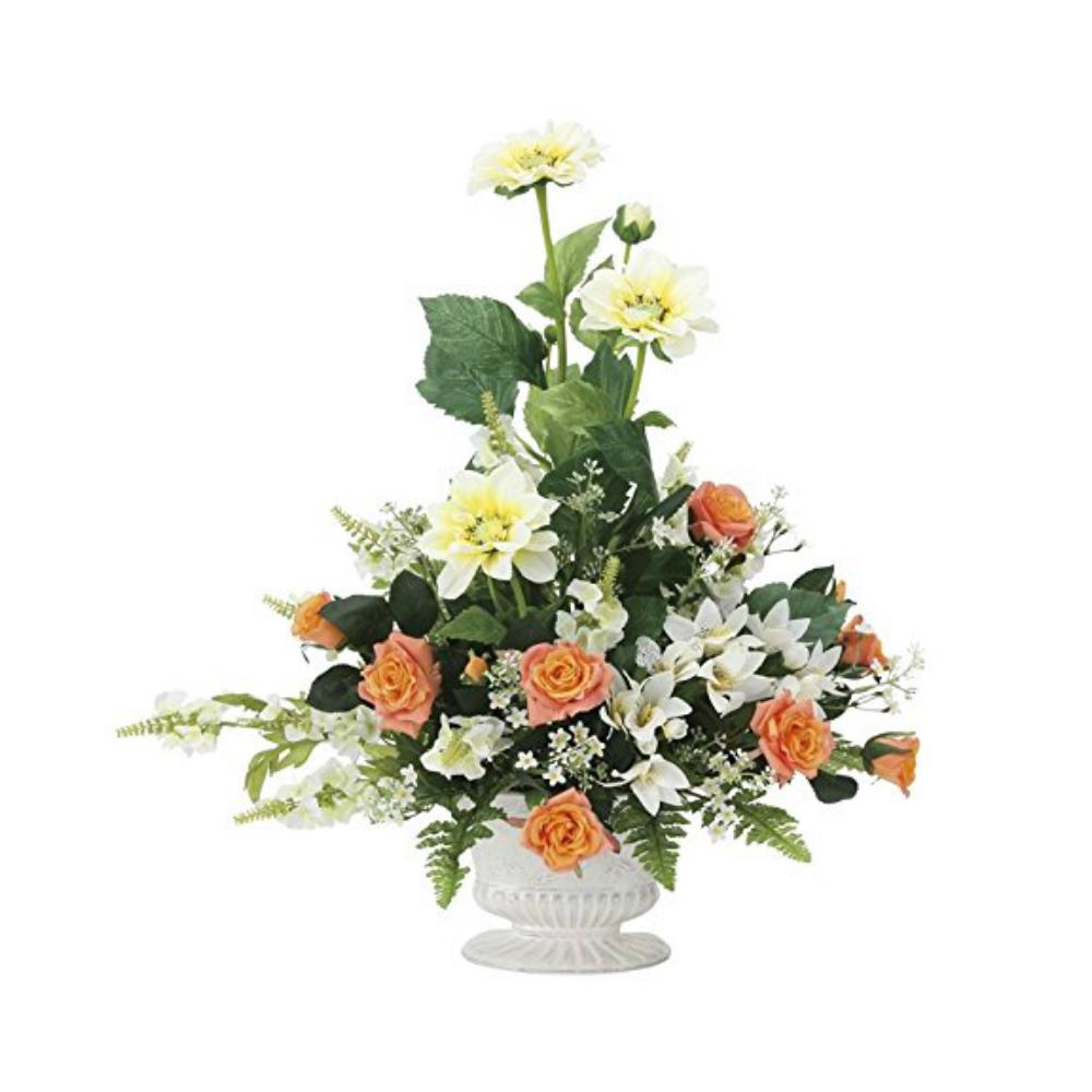 光触媒 人工観葉植物 造花(フェイクフラワー)光の楽園 アートフラワー シュナーベル 841A100お部屋の消臭・抗菌・防汚効果があります。水やり・お手入れ不要置くだけで素敵な癒し空間約 幅50×奥行30×高さ56cm
