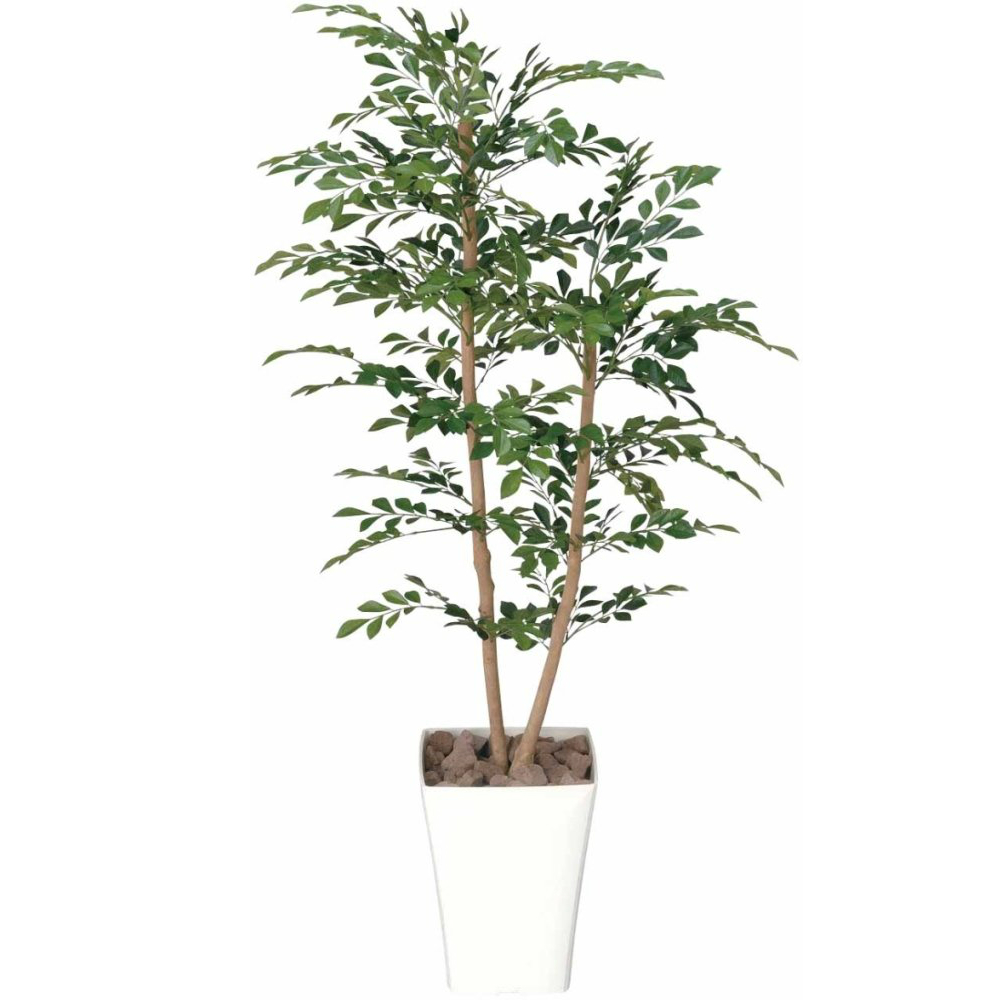 光触媒 光の楽園 トネリコ1.2 184B200約 幅55×奥行50×高さ120cm人工植物 造花 フェイクグリーン おしゃれ インテリア 大型