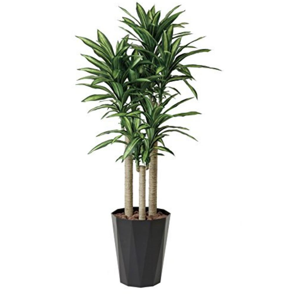 光触媒 人工観葉植物 造花 フェイクグリーン 光の楽園 幸福の木(ドラセナ・マッサンゲアナ) 1.8m おしゃれ インテリア 大型 401E400