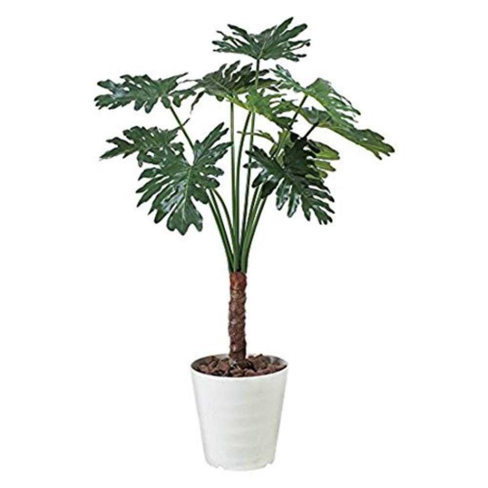 光触媒 人工観葉植物 造花 フェイクグリーン 光の楽園 セロームフィロ 1.3m おしゃれ インテリア 大型 365C250