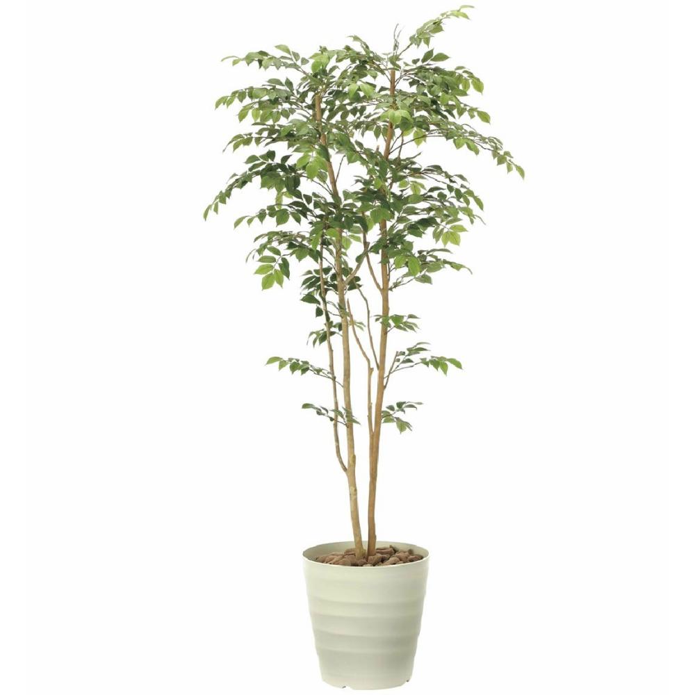 光触媒 人工観葉植物 造花 フェイクグリーン 光の楽園 マウンテンアッシュ 1.8m おしゃれ インテリア 大型 900A360