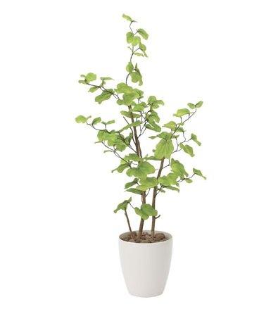 光触媒 人工観葉植物 造花 フェイクグリーン 光の楽園 バウヒニア 1.3m おしゃれ インテリア 大型 和風 821A220