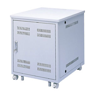 サーバーラック 幅600×高さ700×奥行700mm サンワサプライ製eデスクシリーズとの組み合わせに最適 サーバー ラック サーバラック[ED-CP6070]