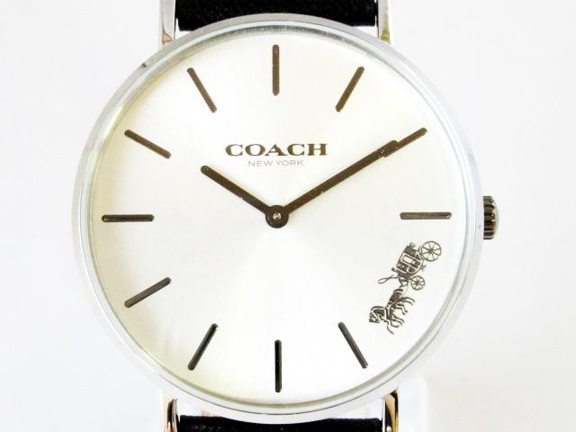 コーチ(COACH) レディース 腕時計 クォーツ ペリー 馬車モチーフ ★ 14503115【新品】