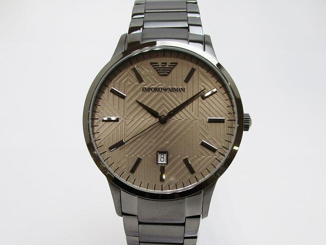 【エンポリオアルマーニ】EMPORIO ARMANI 腕時計 メンズ クォーツ RENATO レナート 43mmAR11120【新品】