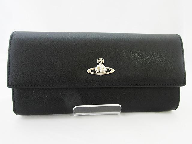 ヴィヴィアン・ウエストウッド 長財布★321547BLACK レディース ブラック【新品】