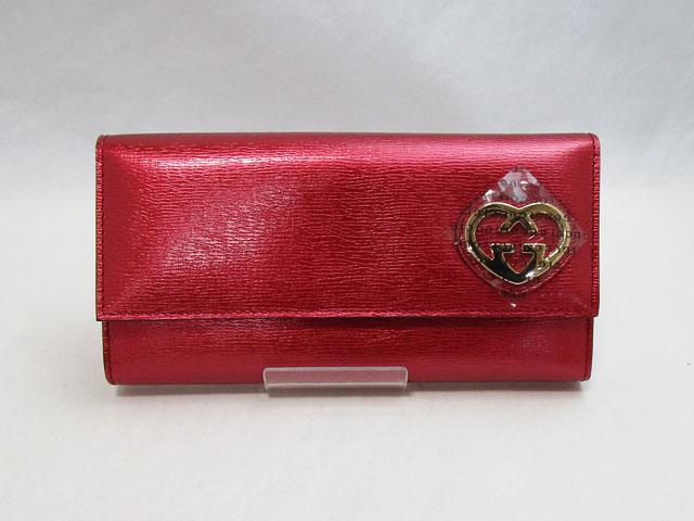 【グッチ】GUCCI 長財布 レディース245728【中古】未使用品