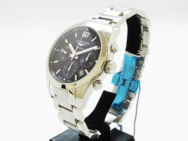 【特別価格】ロンジン(Longines) コンクエスト 腕時計 メンズ 自動巻き ★ L2.786.4.56.6【新品】